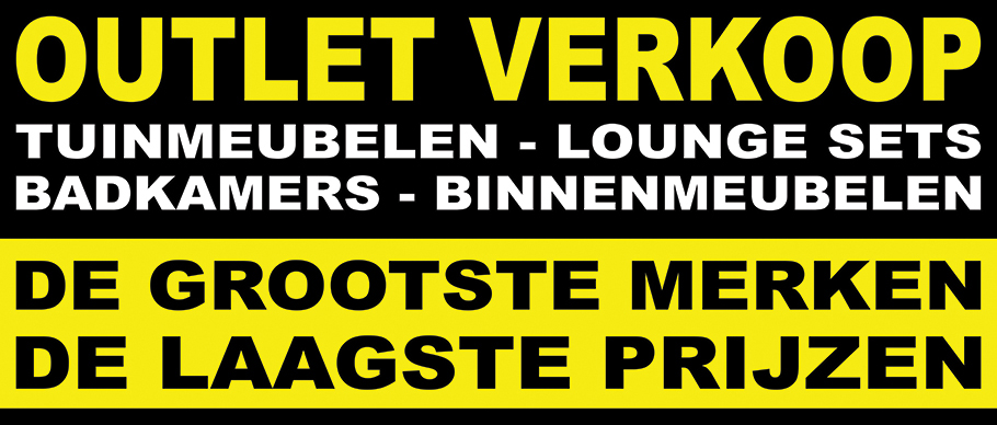 Outlet Tuinmeubelen Stockverkoop Tuinsets
